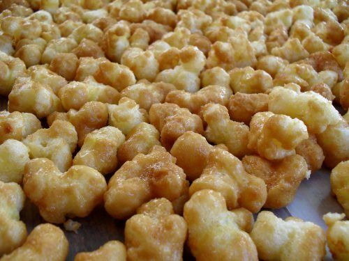 This is Amazing!! So hard not to eat it all at once. Caramel Puffed Corn