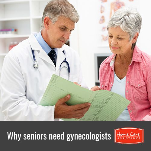 Women over the age of 65 still need to see a gynecologist annually, even if they have already experienced menopause.