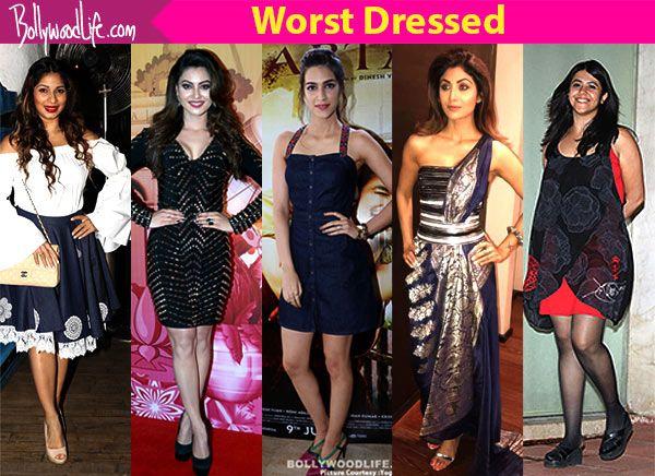 Shilpa Shetty, Kriti Sanon, Ekta Kapoor, Urvashi Rautela and Tanishaa Mukerji show us what exactly is fashion faux pas #FansnStars