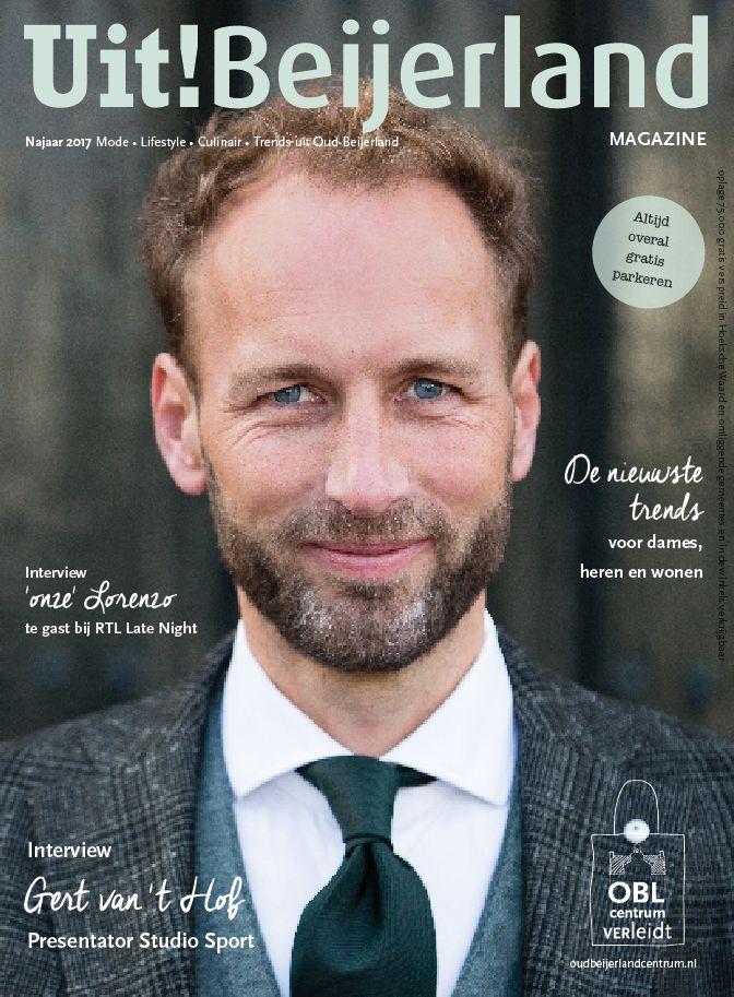 Uit!Beijerland magazine, Centrum mamagement Oud-Beijerland, Rogier Bot, Sem den Hollander, Daan Barnhoorn