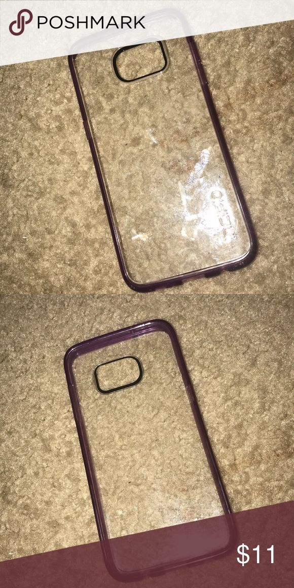 S8 Phone Case Clear and Purple S8 phone case Accessories Phone Cases