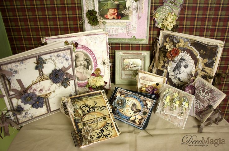 Many creations with scrapbooking; albums, notebooks, cards, photoscrap ! Δημιουργίες με scrapbooking!