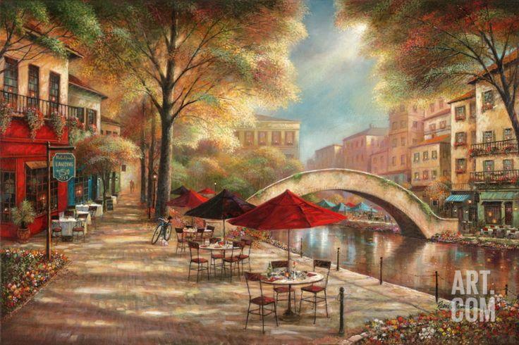 Riverwalk Cafe, by Ruane Manning