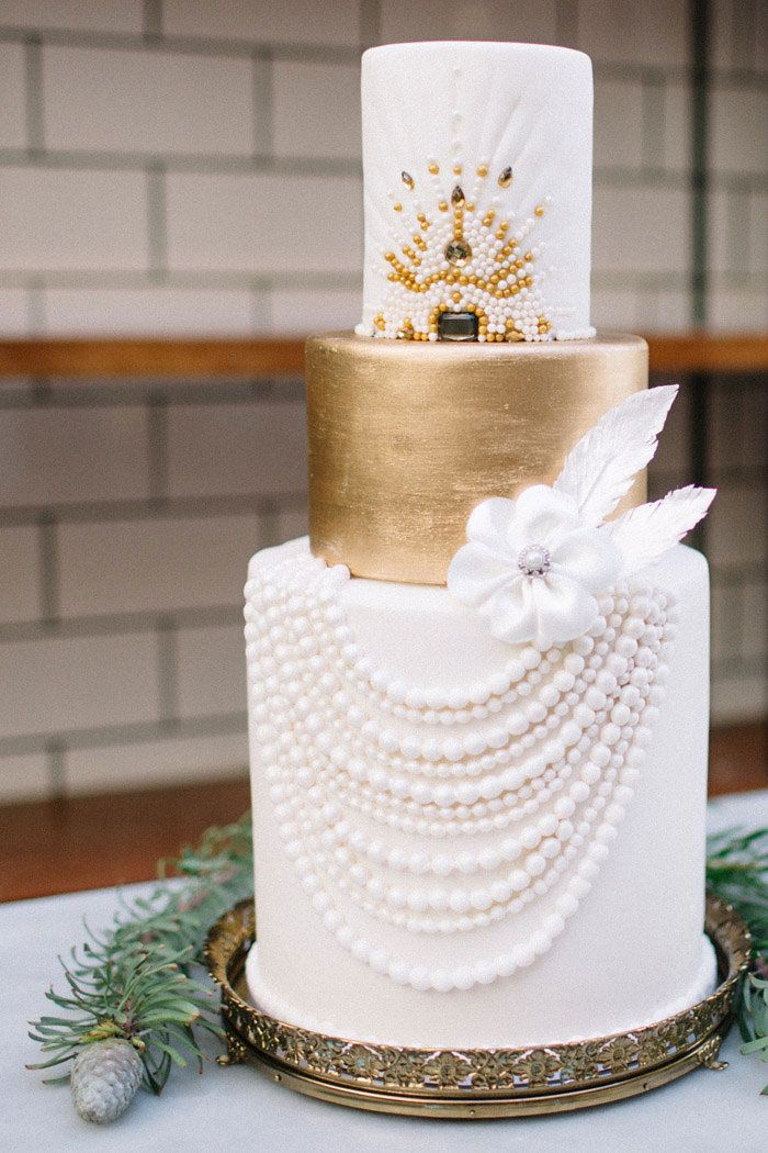 Cake: Elise Cakes (Rachel) - Old Republique Styled Shoot by Kristina Adams Photography - via Grey likes weddings
