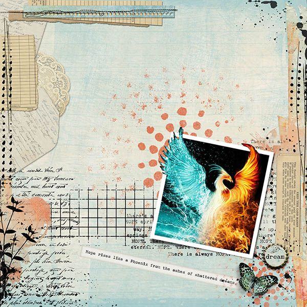 Vicki Robinson is our featured Designer this month  Kit: Express Yourself: Hope  Collection with Bonus Journaling Cards by Vicki Robinson https://www.oscraps.com/shop/Express-Yourself-Hope-Coll.html