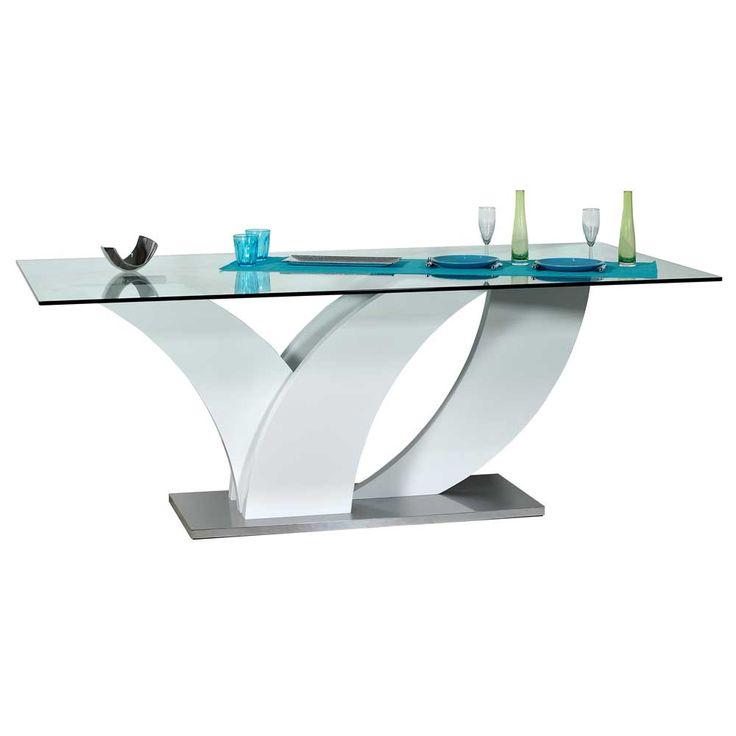 best 25 esstisch glas ideas on pinterest. Black Bedroom Furniture Sets. Home Design Ideas
