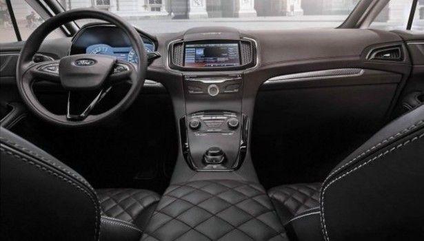 2015 Ford S-Max - interior
