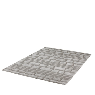 Recrate a cobbled street with this cosy, fluffy rug.