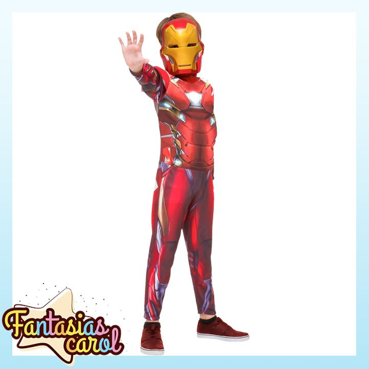Lançamento Exclusivo para Clientes FantasiasCarol!  Fantasia Homem de Ferro / Iron Man Longa Infantil Guerra Civil por apenas...  Confira -> https://www.fantasiascarol.com.br/prod,idloja,25984,idproduto,5261943,fantasia-infantil-super-herois-fantasia-homem-de-ferro---iron-man-longa-infantil-guerra-civil
