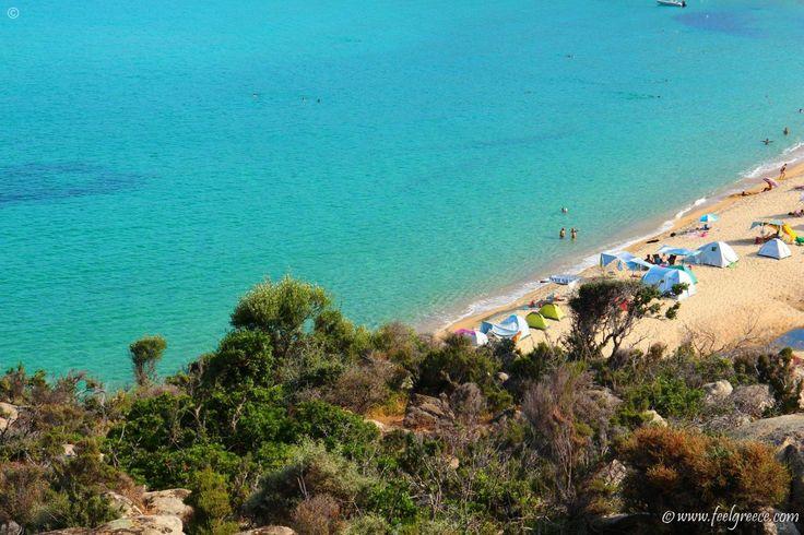 Kriaritsi - sandy beach on the east coast - Sithonia