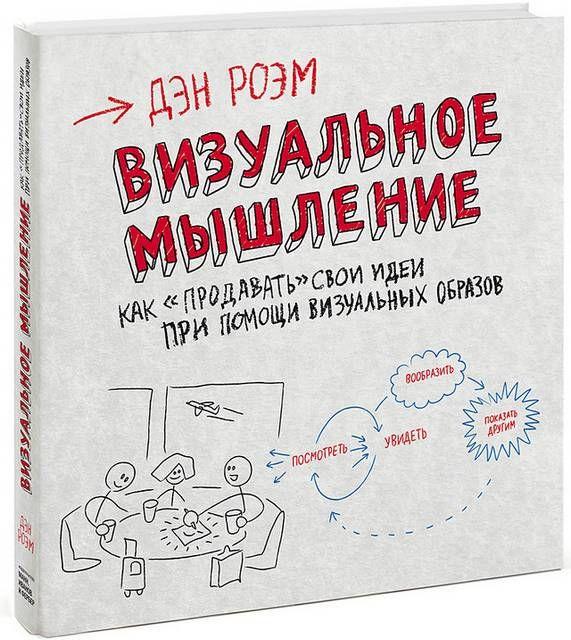ВИЗУАЛЬНОЕ МЫШЛЕНИЕ В ВОПРОСАХ И ОТВЕТАХ http://design-union.ru/portalnew/noosphera/library/2629-visual-mind  Обратная сторона салфетки. Да, да, именно так называлась книга Дэна Роэма (Dan Roam) о визуализации проблем и их решений. В основе рассказ автора об обычной салфетке на которой он сделал графический набросок грядущего доклада на конференции. С помощью такой визуализации мысли автора были упорядочены, что помогло блестяще справиться с поставленной задачей.  Издатели Манн, Иванов и…