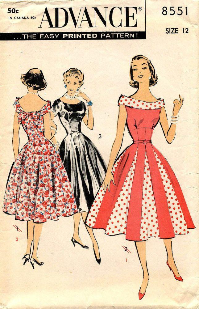 "Advance pattern I used for my valentines day dress ""Secret Love"""