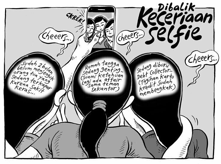 dibalik Keceriaan #Selfie