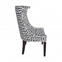 Krzesło tapicerowane nowoczesne glamour do jadalni CONCORDIA
