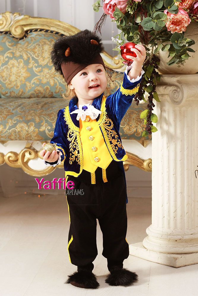 Beast Costume Baby Boy Halloween Prince Outfit Beauty And The Beast Disney Suit Infants Toddlers Beauty Baby Boy Halloween Kids Christmas Outfits Beast Costume