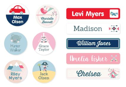 Discover a huge range of quality kids name labels, tags & iron on clothing labels for school at Stuck on You ®. Shop online here! Or view in store - located in Leather St Breakwater - 300m from Trampoline Web And Warehouse.