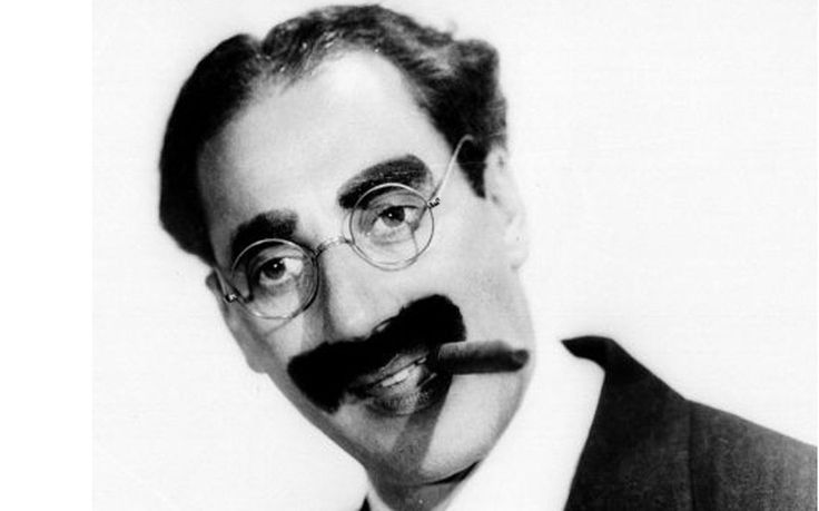 Groucho Marx (1890-1977):  'I never forget a face, but in your case I'd be glad to make an exception.'