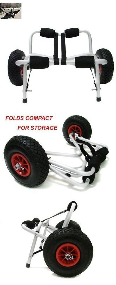 Accessories 87089: Kayak Canoe Boat Carrier Dolly Trailer Folding Tote Trolley Transport Cart Wheel -> BUY IT NOW ONLY: $44.73 on eBay!