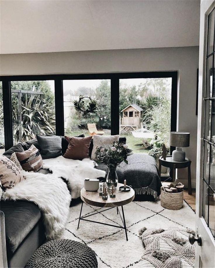 40 Cozy Rustic Living Room Decor Ideas Koees Blog Small Modern Living Room Living Room Decor Rustic Living Room Remodel