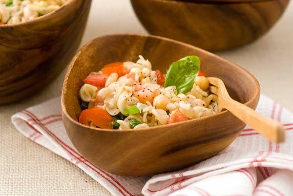 Gluten Free Summer Minestrone Pasta Salad