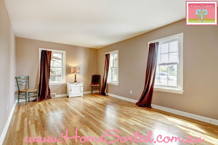 Once you have decorated your new room, make a decision whether or not the window dressing needs changing.