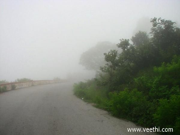 Way to Nandi Hills - Bangalore