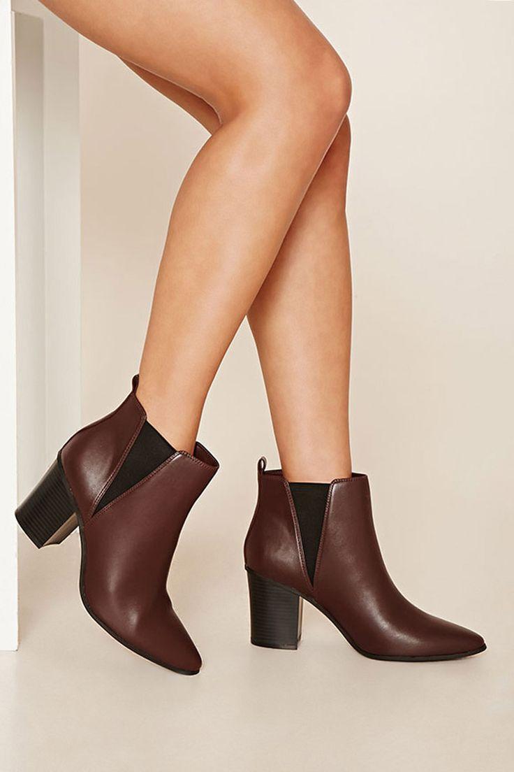 Faux Leather Chelsea Boots - Sale - Sale - 2000201942 - Forever 21 EU English