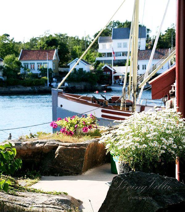 Lyngør Norway seaside