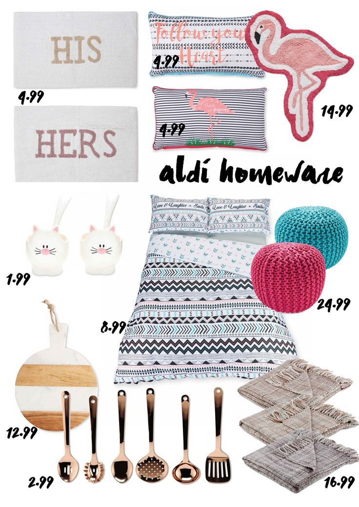 aldi homeware rose gold copper pink and marble SPECIALFINDS copper bargains at aldi store and online flamingo bedding his hers mat