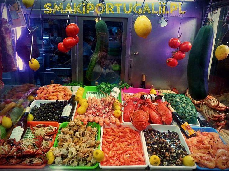 SEA FOOD , owoce morza, Portugal, Portugalia - by SMAKiPORTUGALii.PL
