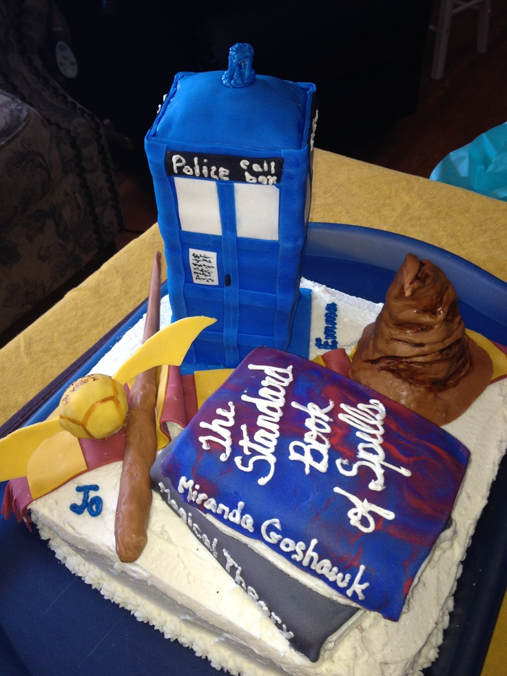 Best realm melding birthday cake ever the superwholock for How to make the best birthday cake ever
