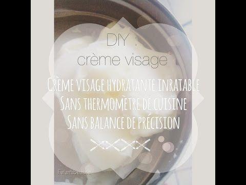 ❁DIY : Comment réaliser une crème hydratante visage inratable. Méthode one pot❁