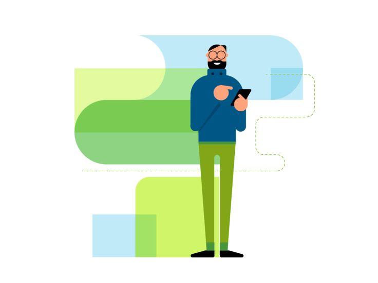 Wifi Connect by JONES&CO #Design Popular #Dribbble #shots