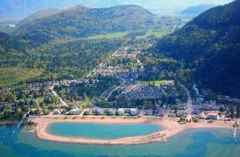 Harrison Hot Springs, British Columbia. (Visited 2001, 2003, 2004...band camp!)