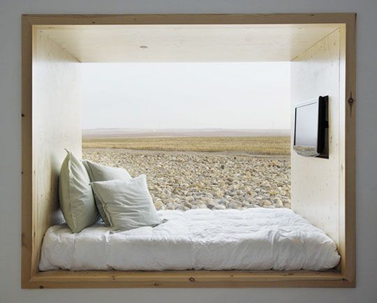 Nook with a viewAlcove Beds, Ideas, Spaces, Hotels Air, Dreams, Windows Seats, Interiors, Design Bedrooms, Reading Nooks