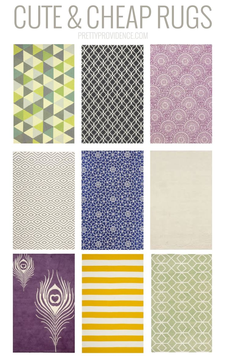 cute cheap rugs roundup 6