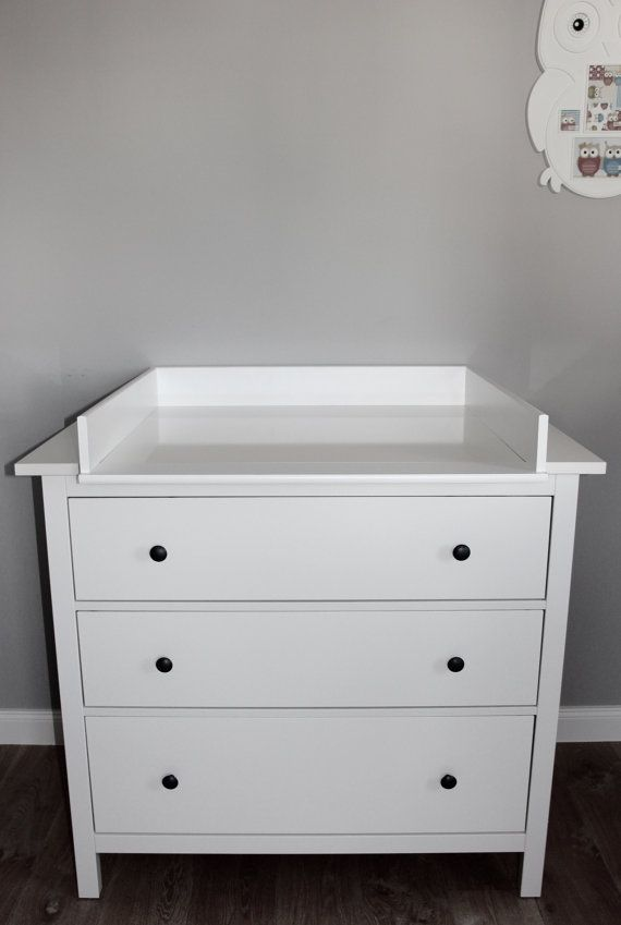 Best 25 changing unit ideas on pinterest baby changing for Ikea dressing table hemnes