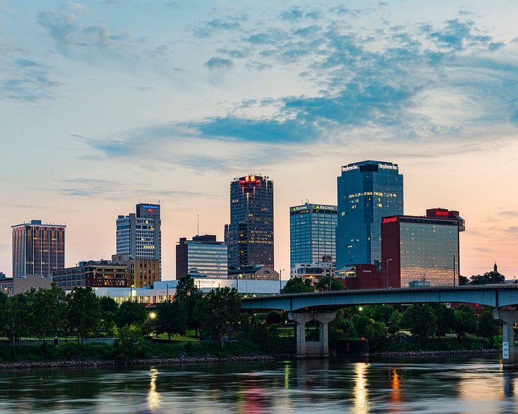 Downtown Little Rock Arkansas