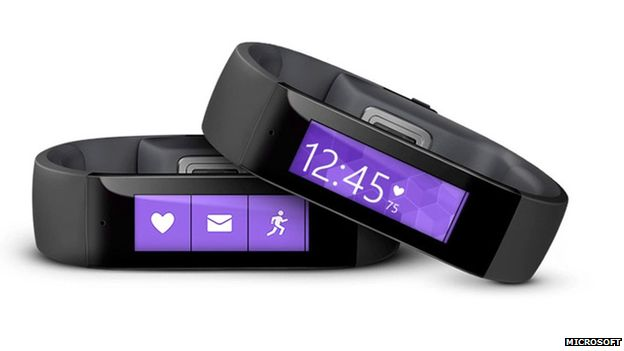 Microsoft has unveiled its first wearable device that can track a user's sleep and exercise as well as connect to a health service on smartphones. The Microsoft Band will retail for £125 on the company's online store.