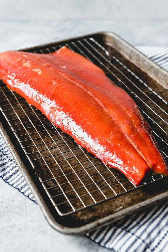 This Hot Smoked Salmon recipe is easy to make on your wood ...