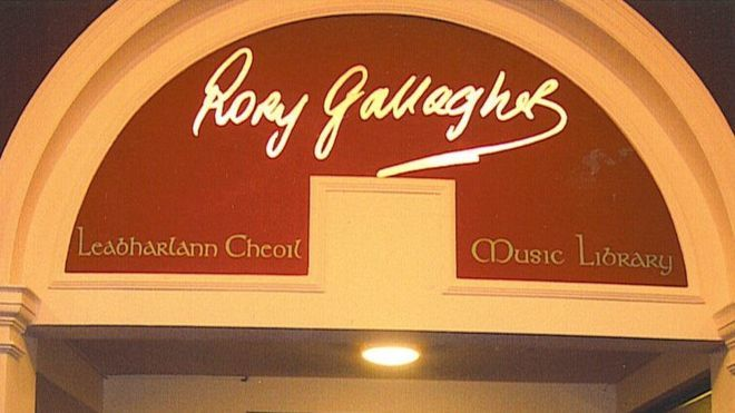 In 2004, Cork City Libraries renamed its music department as the Rory Gallagher Music Library in tribute to their famous Corkman