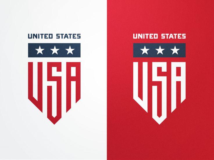 USA Badge by Fraser Davidson