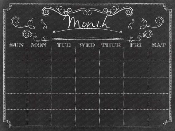 Chalkboard Calendar Walmart : Best for the home images on pinterest chalkboard