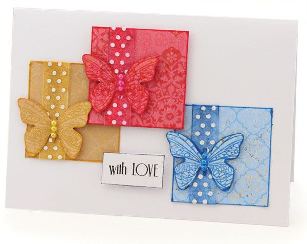 MT457 3 Way AIAM Butterfly Cards
