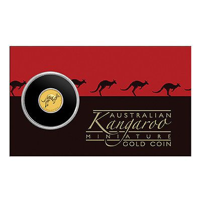 Känguru 2017 Goldmünze aus Australien