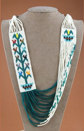Rena Charles, Beaded Necklace