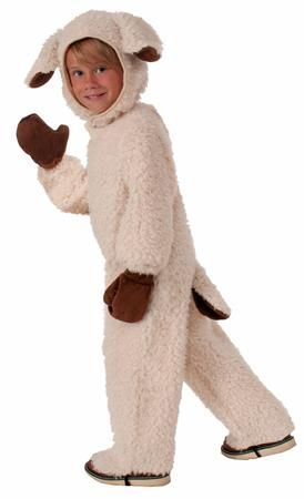 Our #Plush Lovable Lamb Child #Costume will be a hit at any #Halloween party or trick or treating adventure. The Lovable Lamb costume is perfect for boys or girls and includes, hood, jumpsuit with attached shoe covers and mitts. Additional plush animal costumes and accessories are available and sold separately.