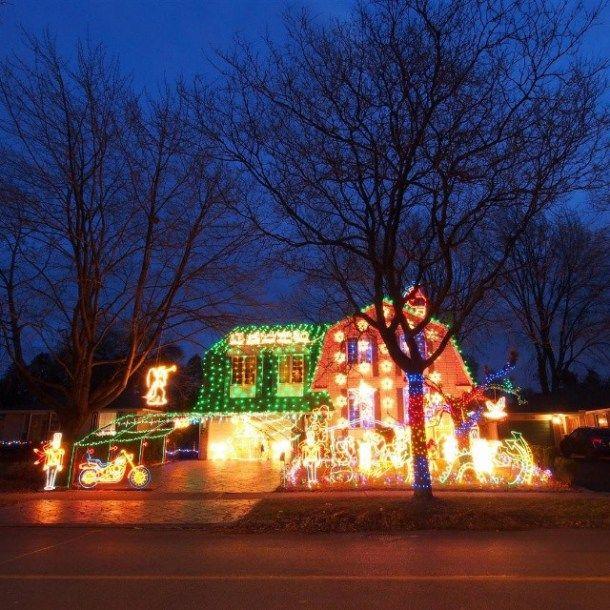 My favorite place to go during Christmas!  Burlington, Ontario.