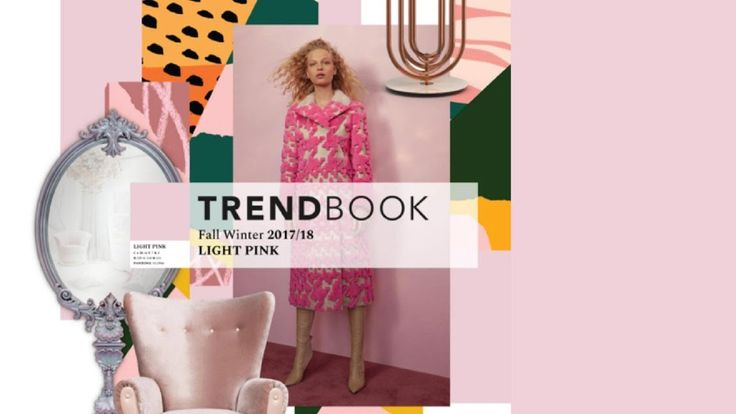 Trend Book Video: Color Trends 2018 Light Pink