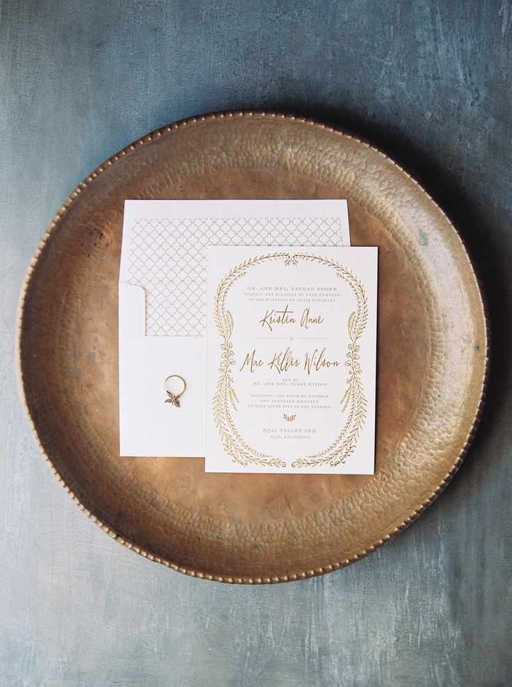 letterpress wedding invites london%0A White and Gold Wedding  Nightingale wedding invitations from Bella Figura